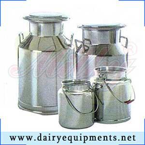 milk storage cans, Khoya Making Machine India